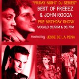 Best of Freeez & John Rocca Pre Birthday show 9.20.13 hosted by JDLP