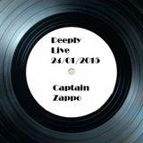 Captain Zappo - Deeply live 24/01/2015