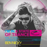 Ben Nicky - Live @ A State Of Trance Festival, Who's Afraid Of 138 Stage (Utrecht, Netherlands)
