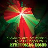 7 SAMURAI dig a lil deeper Vol III AfrodisiacDisco