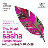 Sasha - Live at Kumharas, Sunset Sessions, Ibiza (14-07-2016)