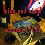 Wine & Vinyl – Session 7.04.15
