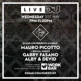 Mauro Picotto - live at DJ Mag Presents Alchemy - 31-May-2017