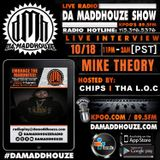 Mike Theory calls into Da Maddhouze on KPOO 89.5 FM