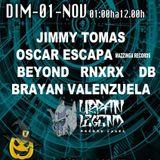 Jimmy Tomas #Warm Up Halloween #La Hurraka 01112016 #Xamaka Records Xperience