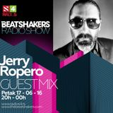 The Beatshakers Radio Show - Guest Mix by Jerry Ropero