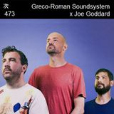 Tsugi Podcast 473 : Joe Goddard x Greco-Roman Soundsystem