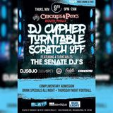 Senate Cypher Live @ Play2 11|9|17