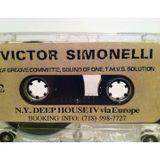 Victor Simonelli - N.Y. Deep House IV via Europe (Side A) Mixtape