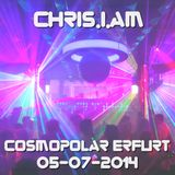 Chris.I.Am @Cosmopolar Erfurt 05-07-2014