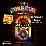 STUART BUSBY'S 1960's JUKEBOX - 29-7-2017 - 242 RADIO