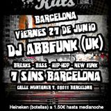DJ ABBFunk live set @ Sideshow Kuts Barcelona 27/6/14