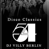 STUDIO 54 Tribute Party Disco Classics by DJ VILLY BERLIN VINYL ONLY
