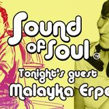 Dean Anderson's Sound Of Soul 19th September 2019 with special guest Malayka Erpen