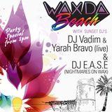 Nightmares on wax presents Wax Da Beach @ KUMHARAS sunset Ibiza -20/8/12