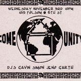 SIMON LIVE @ COME UNITY 4/5/95