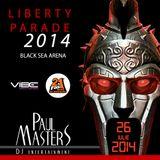 Paul Masters - Liberty Parade 2014 Official Mix