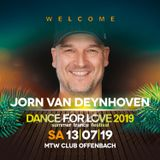 02. Jorn van Deynhoven - 20.06.2019 - Trance Energy Radio - Dance for Love 2019 Special