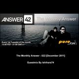 The Monthly Answer - 022 [December 2011] guestmix by Ishihara74