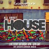 ALL ABOUT HOUSE - Live on GrooveLondon Radio - 05/09/2015