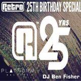 DJ Ben Fisher @ RETRO / Club Platform - Halifax ( 15th Nov 2014 )