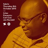 Carl Cox - Recorded Live 02/04/2015