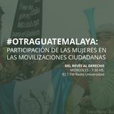 17 de junio - Mujeres en las movilizaciones ciudadana