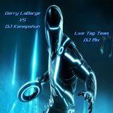 Gerry LaBarge vs DJ Kanipshun - Live Tag Team DJ Mix - Bass Music & Breaks
