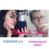 Rhyme and Space Episode 25/1/17