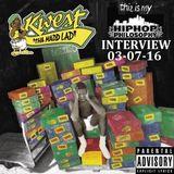 KWEST - The HipHopPhilosophy.com Radio interview - LIVE - 03-07-14