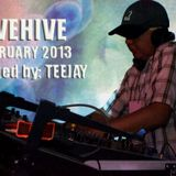 TEEJAY - JIVEHIVE Podcast Feb 2013 [continuous dj mix]