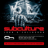 John O Callaghan  -  Subculture 095 (Live from TheTemple San Francisco) on AH.FM  - 01-Dec-2014