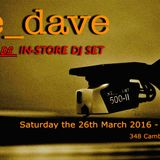 Rat Session # 36 : The Dave