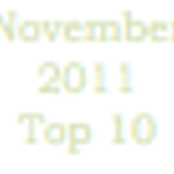 My Top 10 Tracks For November 2011 Mixed In A Cd/Radio/Podcast Format Like
