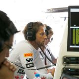 Button mix McLaren-Honda ホンダ Segafredo Zanetti