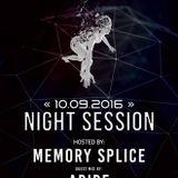 Soundtraffic Night Session - 10/11.09.2016 - Memory Splice & Abide