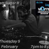 MATT SUGAR R / DJ SET/ WARM UNDERGROUND SESSION 104.2 MHZ/ 5 FEVRIER