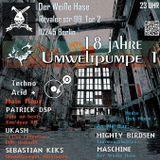 Ukash live at Berlin Techno Party @ Der Weiße Hase (26.05.17)