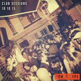 Club Sessions 10 10 15 | Recorded live at Bushwackers, Birmingham, ft. Andy Sax