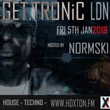GET.TRONiC show Jan 5th 2018 @mistanormski #801