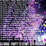 DJ Brab - Party To Start 2017 Megamix (Section 2017)