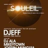 SOLDIER ASCENSION TOUR - DJEFF LIVE AT SOULEIL - SAN DIEGO - USA