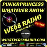 PunkrPrincess Whatever Show recorded live on whatever68.com 9/29/18