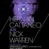 Hernan Cattaneo b2b Nick Warren - Live @ Harlot (San Francisco) - 12.05.2013