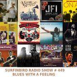 SURFINBIRD RADIO SHOW # 449 BLUES WITH A FEELING