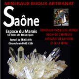 Exposition vente minéraux bijoux artisanat, les 16 et 17 février 2019 à Saône