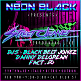 LIVE FROM :: NEON BLACK - SYNTHWAVE & MORE :: 2/9/18