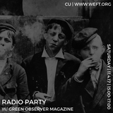 Radio Party 002: The Ghost of Halloween (feat. Green Observer Magazine)
