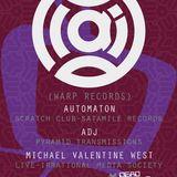 Automaton - DJ set supporting Plaid (warp records) @ The Dark Horse, Moseley