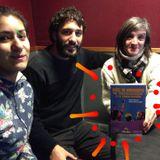Santiago y Maria de La Miguelito Pepe - Presentan el libro Niñez en movimiento